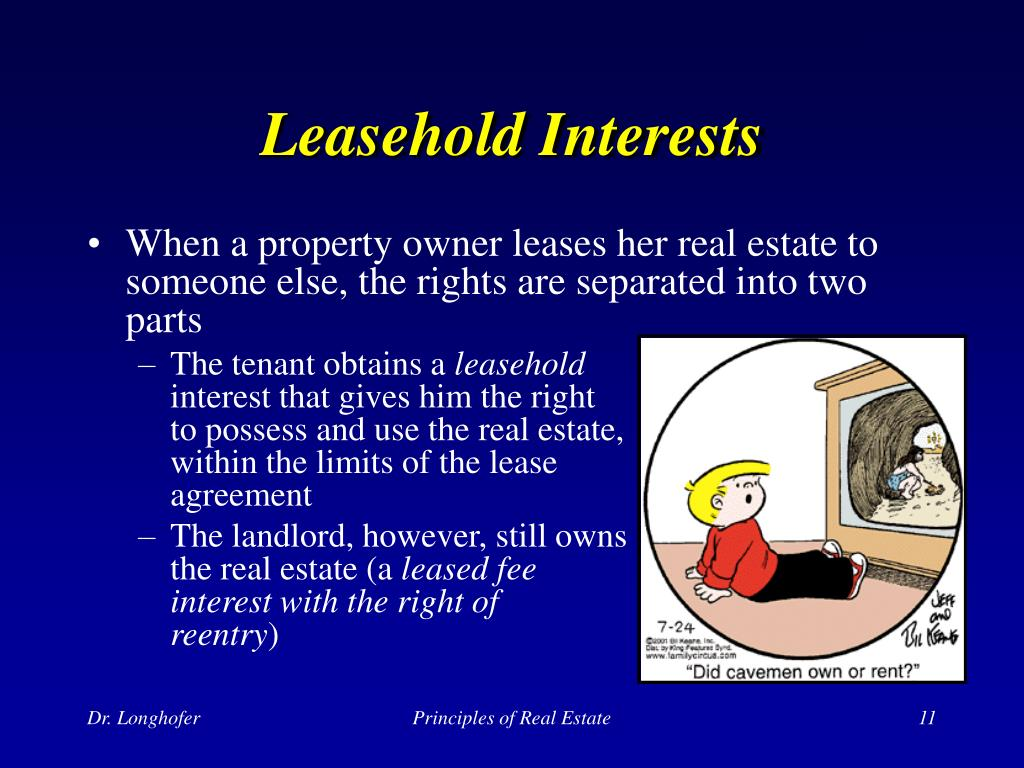 Leasehold Interests