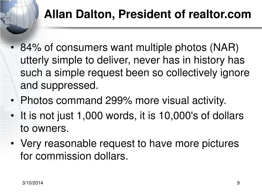 Allan Dalton, President of realtor.com