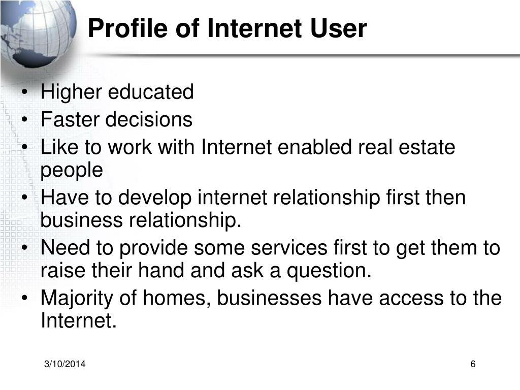 Profile of Internet User