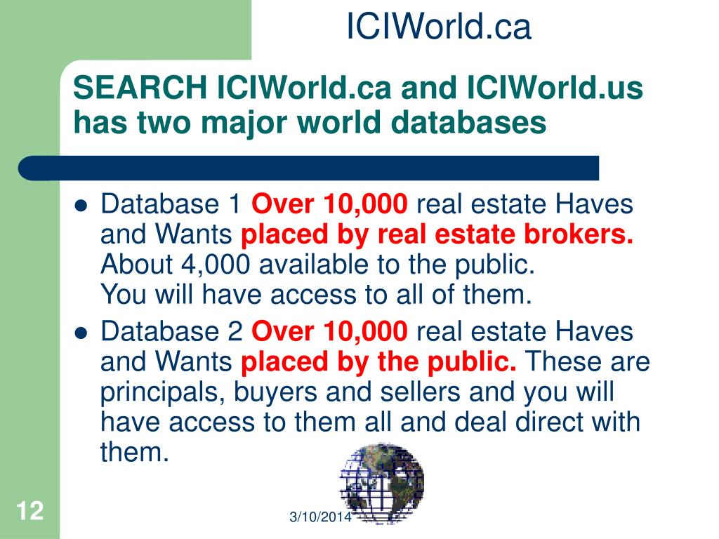 ICIWorld.ca