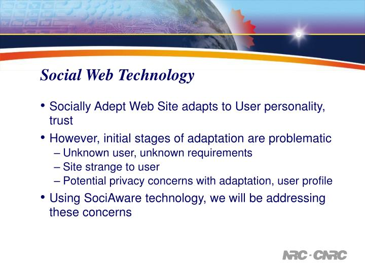 Social Web Technology