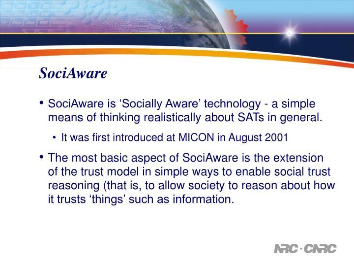 SociAware