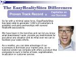 the easyrealtysites differences13