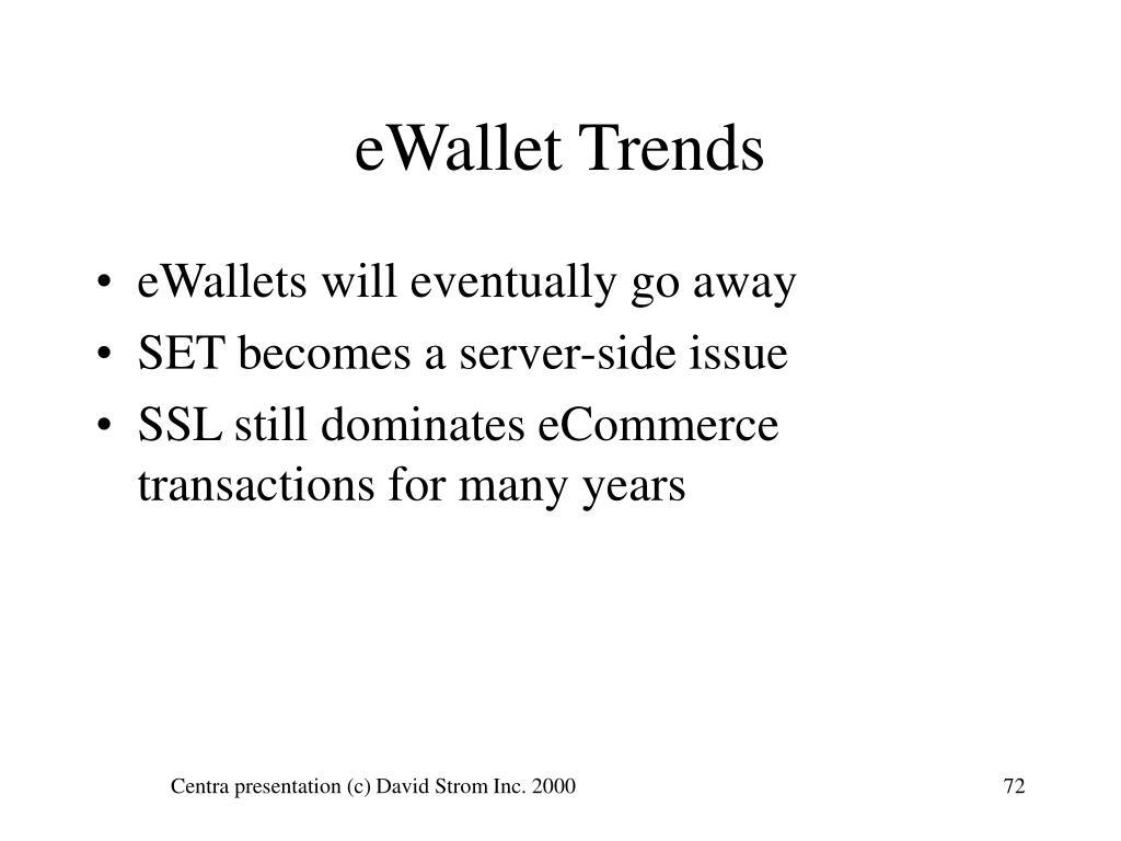 eWallet Trends