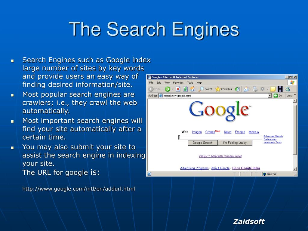The Search Engines