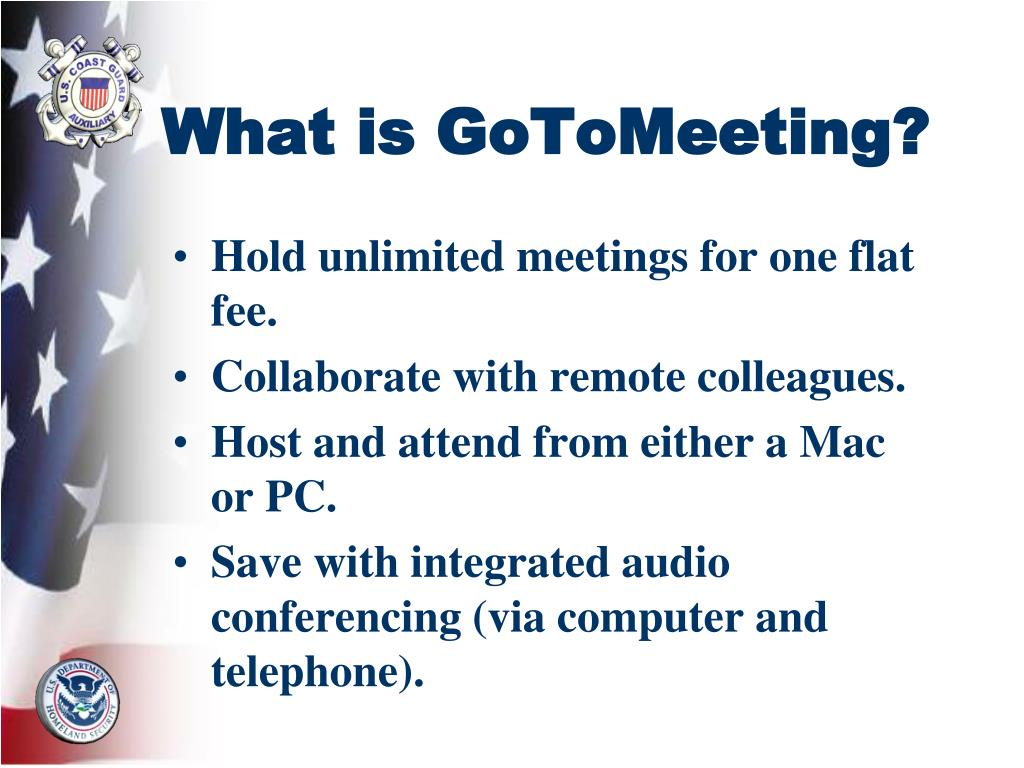 What is GoToMeeting?