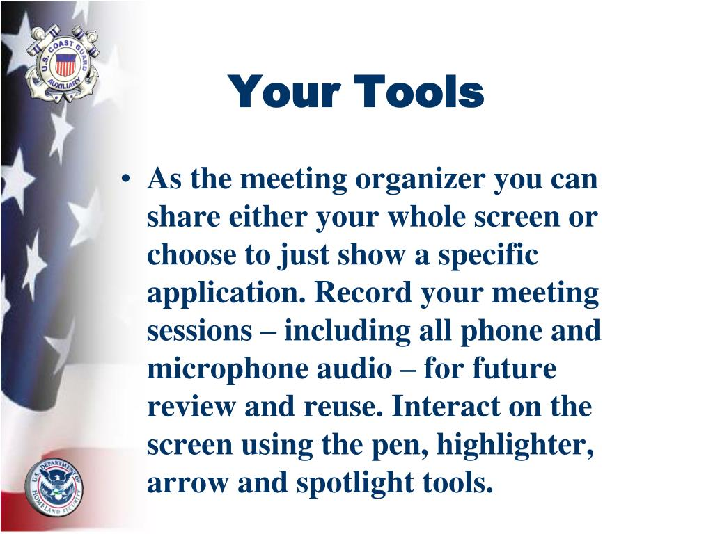 Your Tools