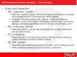hspcomplete business benefits cost savings