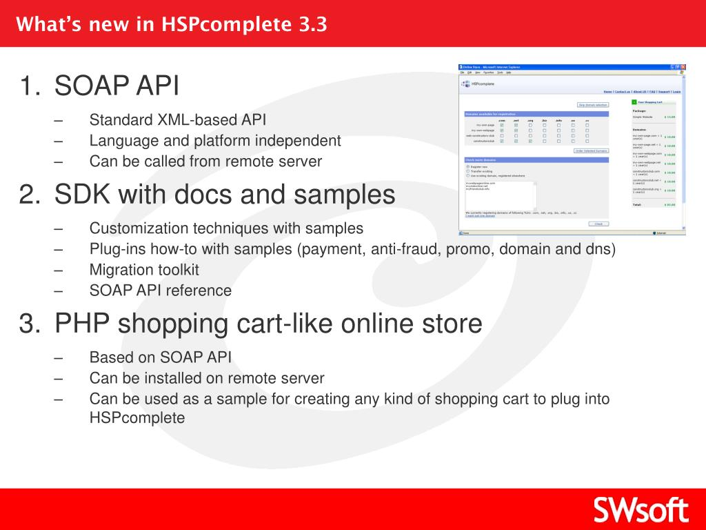 What's new in HSPcomplete 3.3