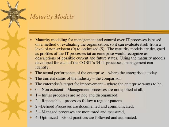 Maturity Models