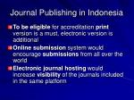 journal publishing in indonesia
