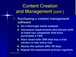 content creation and management cont48