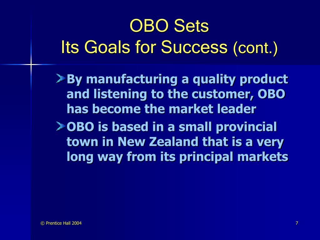 OBO Sets