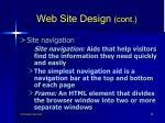web site design cont58