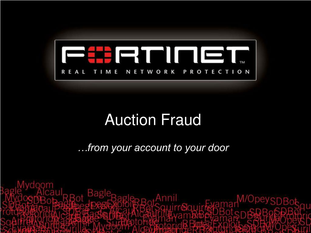 Auction Fraud