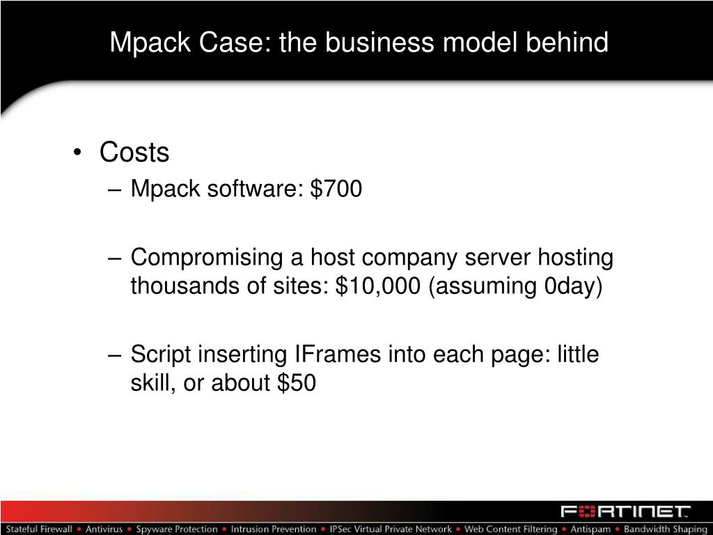 Mpack Case: the business model behind