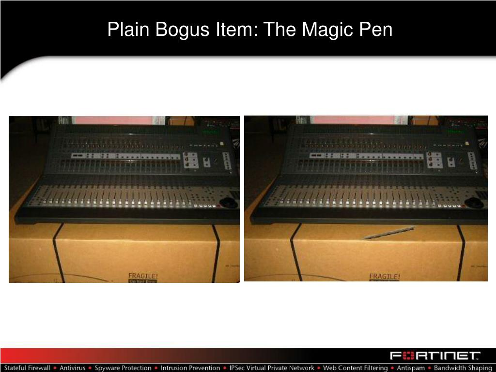 Plain Bogus Item: The Magic Pen