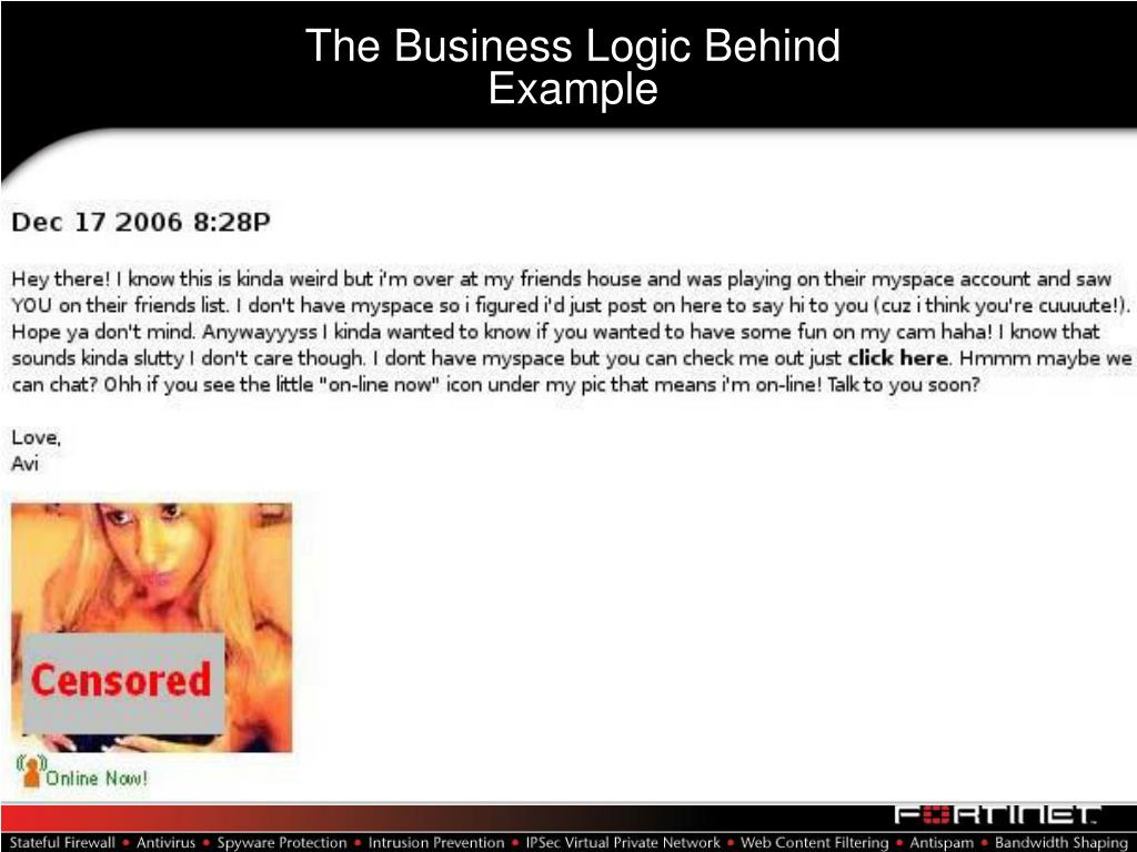 The Business Logic Behind
