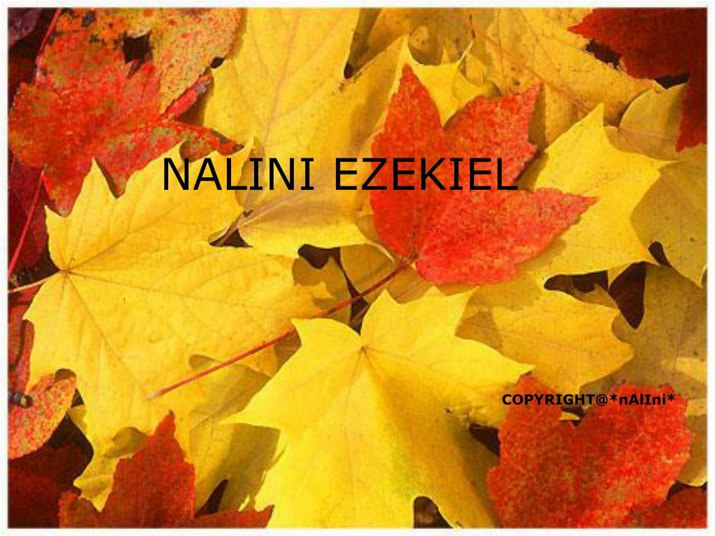 NALINI EZEKIEL