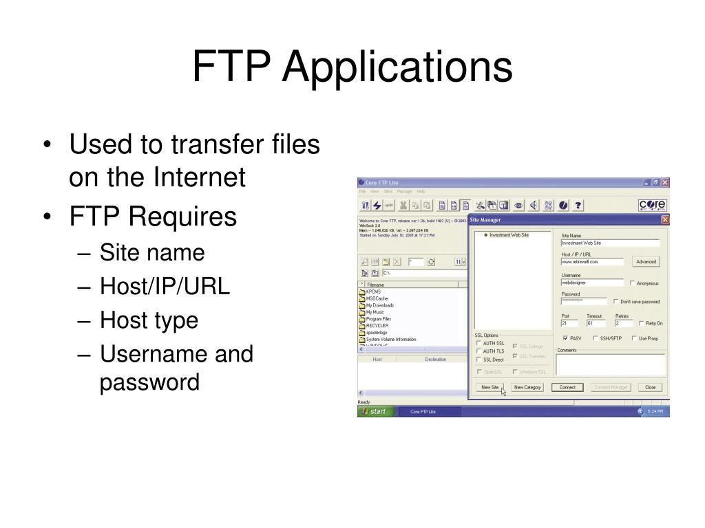 FTP Applications