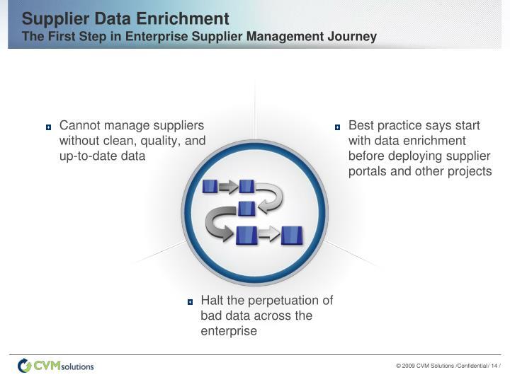 Supplier Data Enrichment