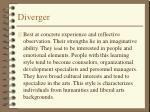 diverger