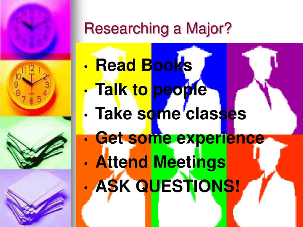 Researching a Major?