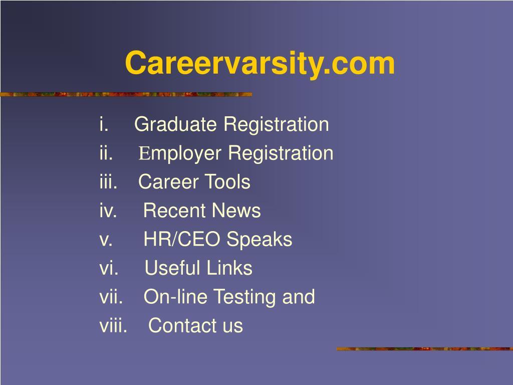 Careervarsity.com