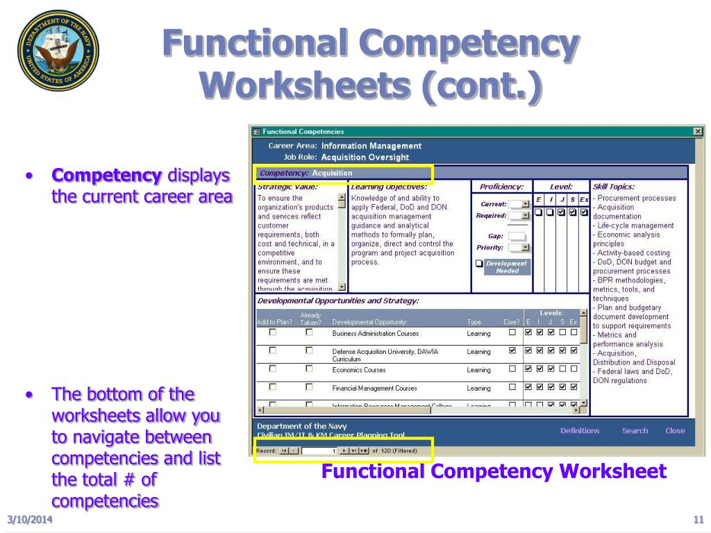 Functional Competency