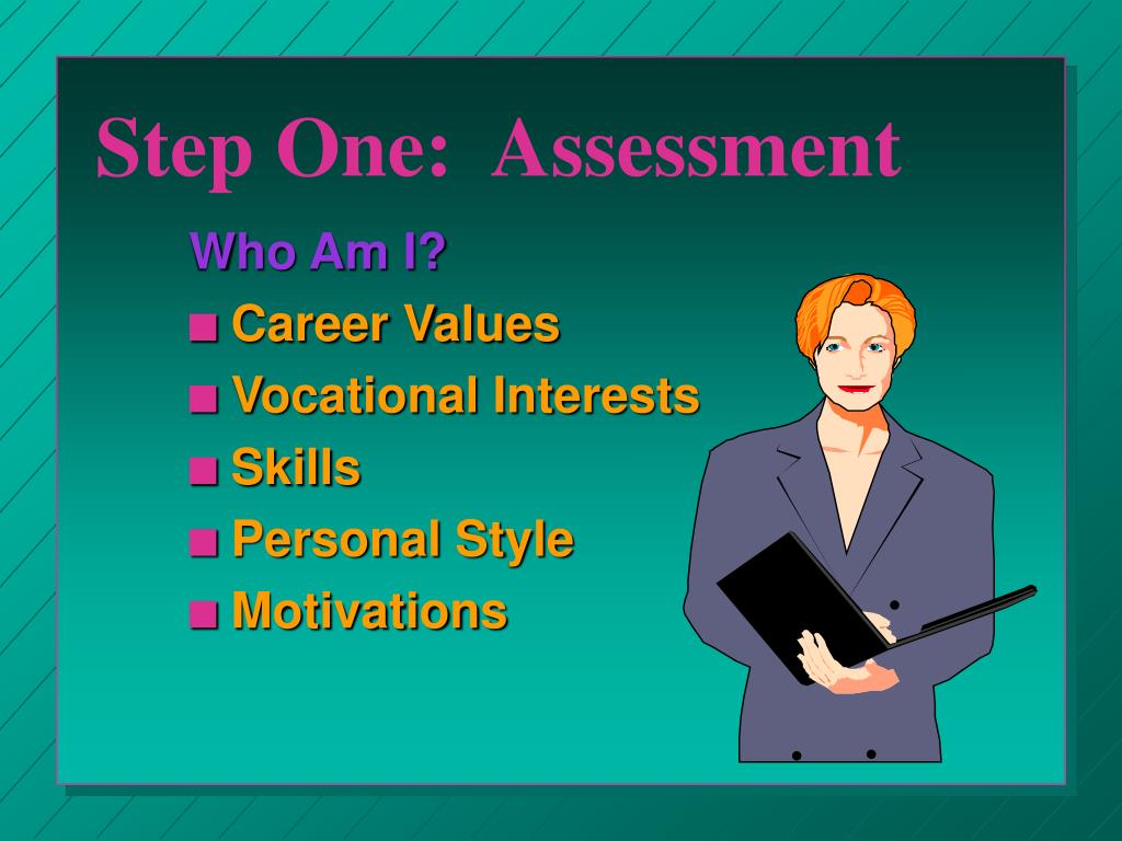 Step One:  Assessment