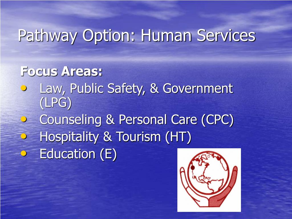 Pathway Option: Human Services