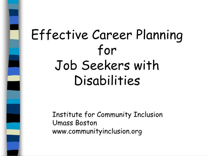 Effective Career Planning