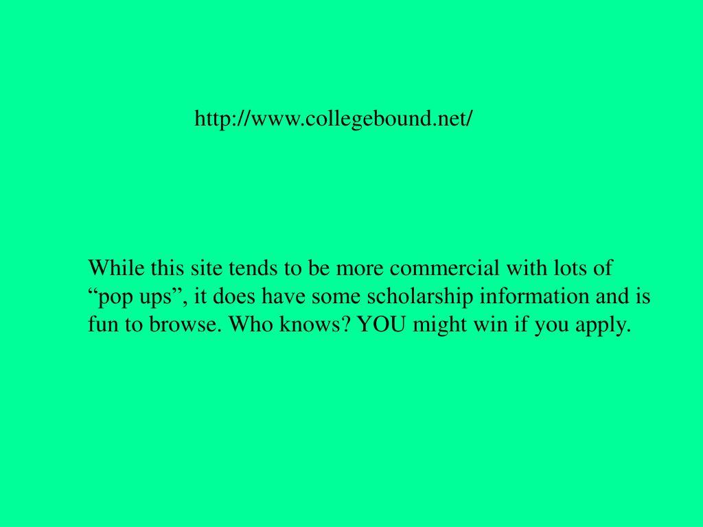 http://www.collegebound.net/