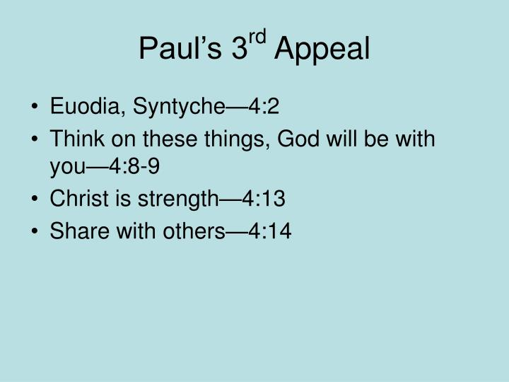 Paul's 3