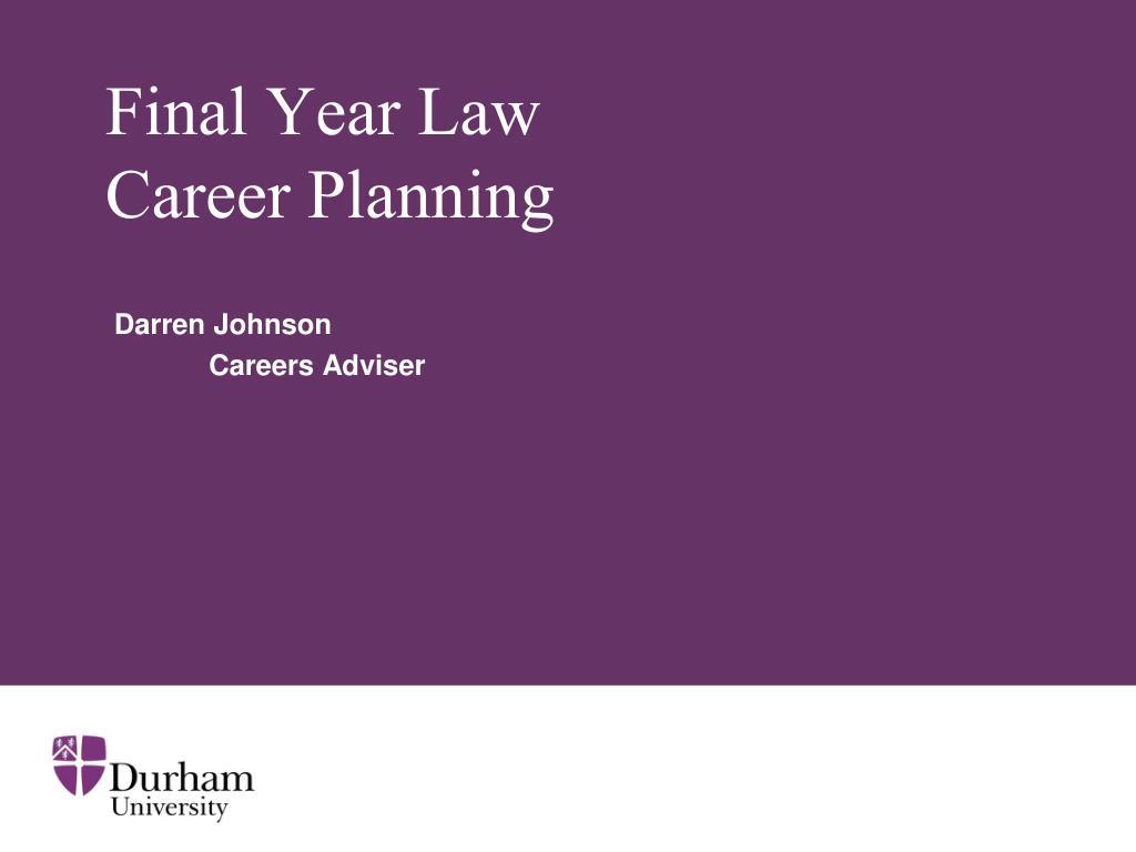Final Year Law