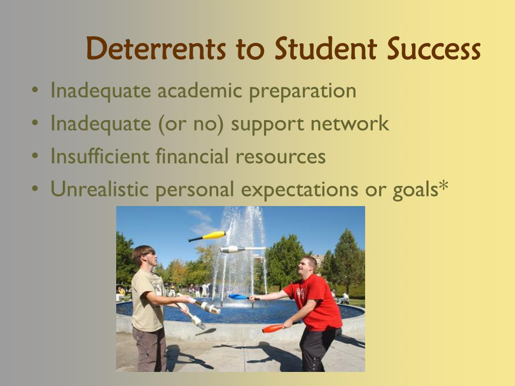 Deterrents to Student Success