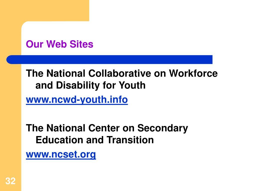 Our Web Sites