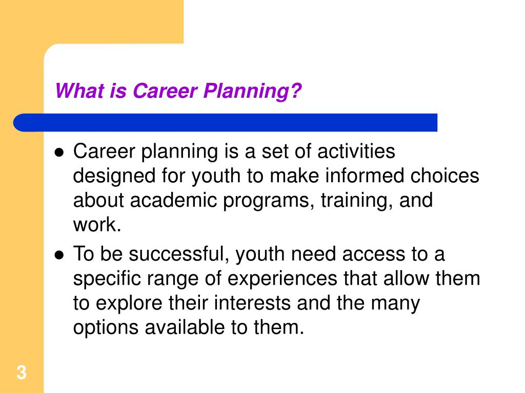 What is Career Planning?