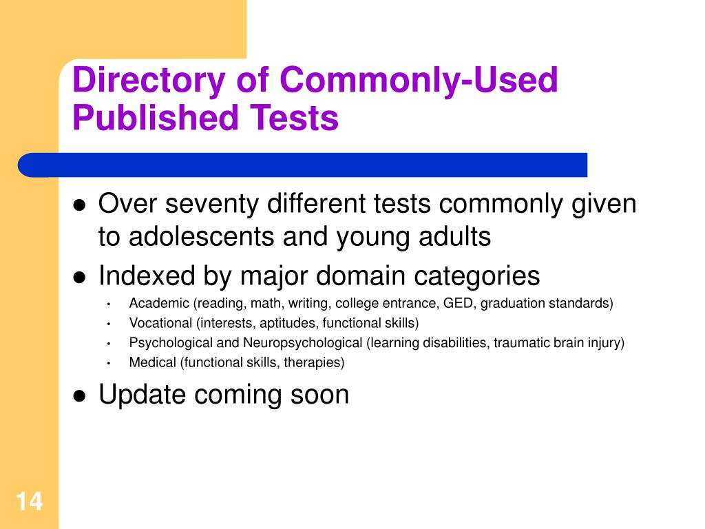 Directory of Commonly-Used