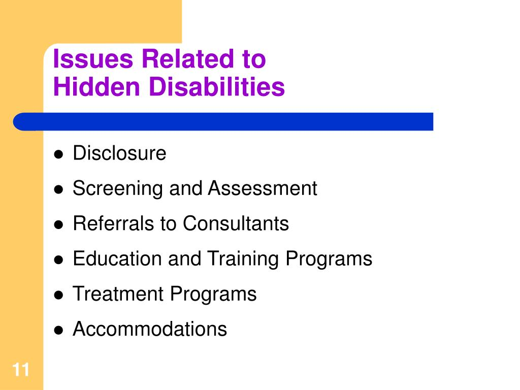 Issues Related to