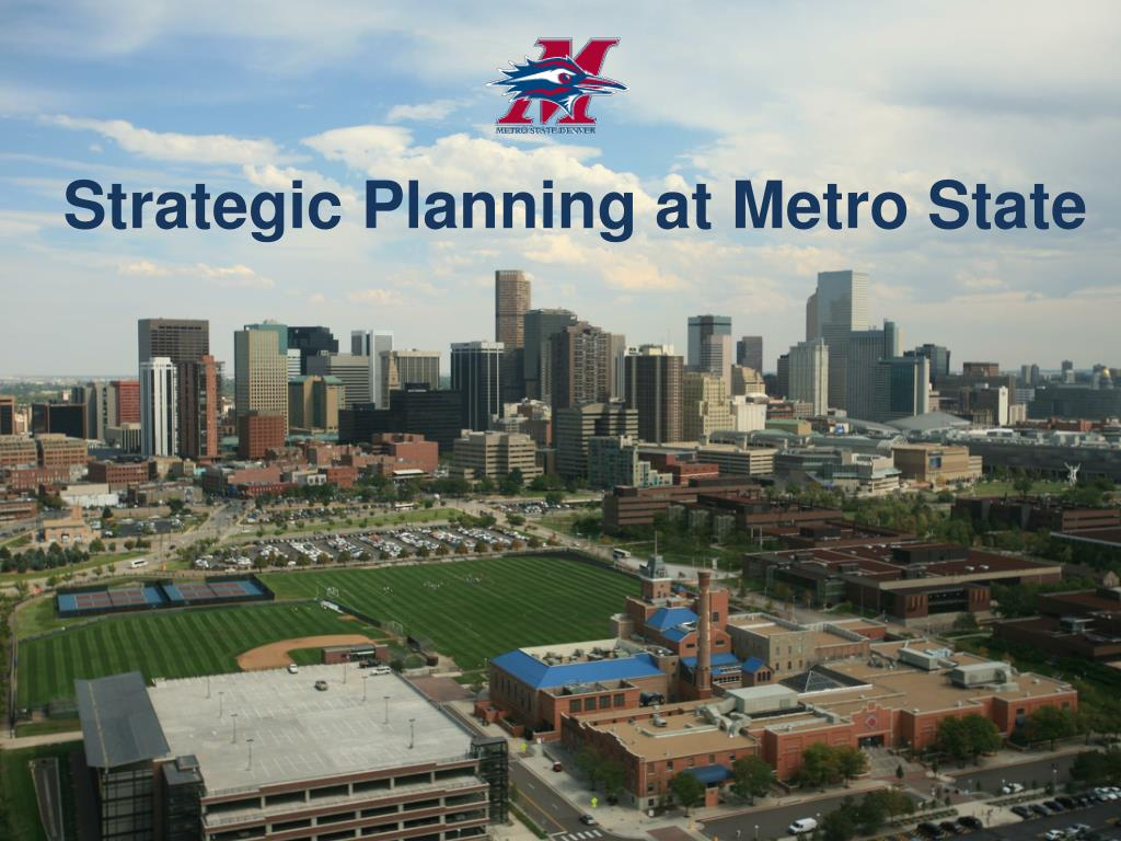 Strategic Planning at Metro State