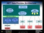 net data provider architecture