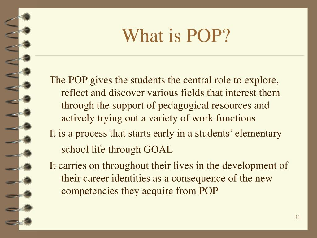 What is POP?