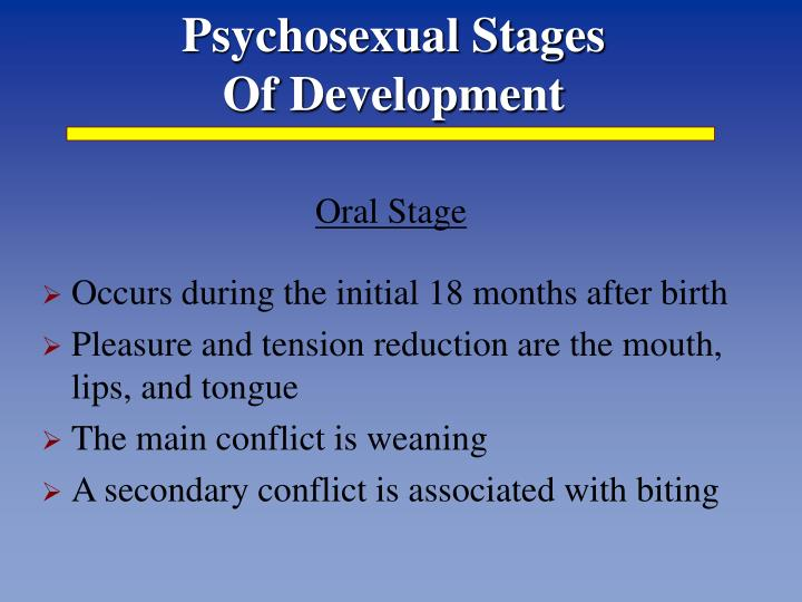 Psychosexual Stages
