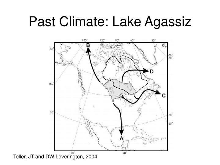 Past Climate: Lake Agassiz
