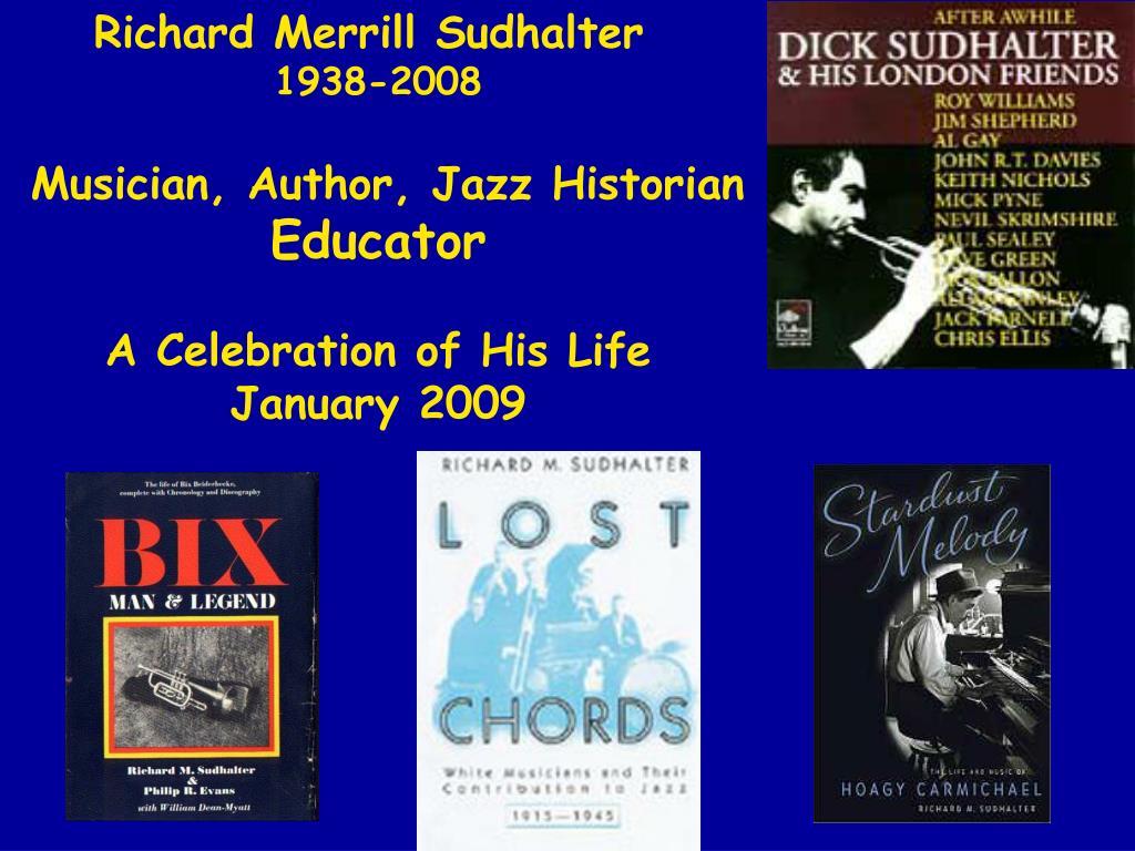 Richard Merrill Sudhalter