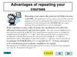 advantages of repeating your courses