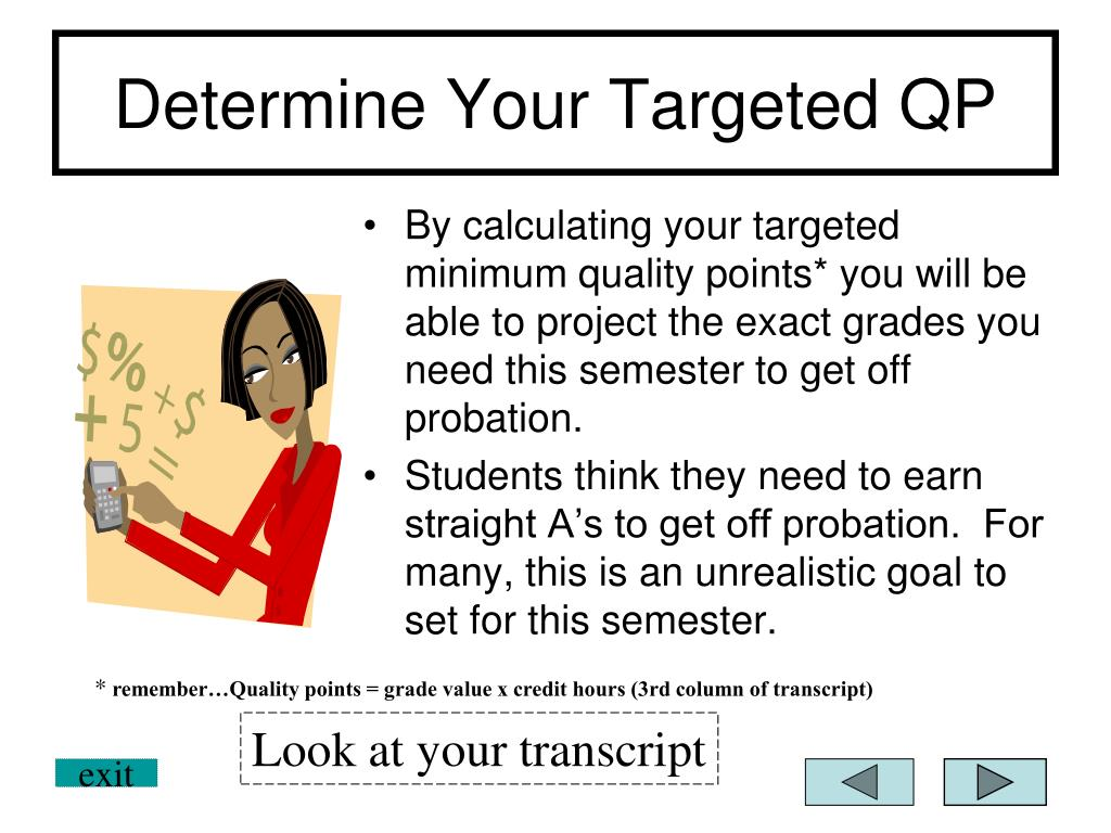 Determine Your Targeted QP