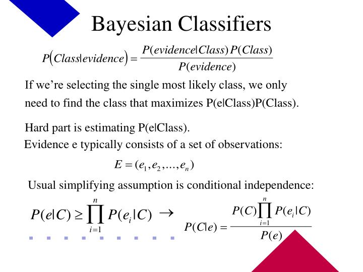 Bayesian Classifiers