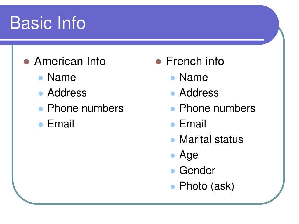 American Info